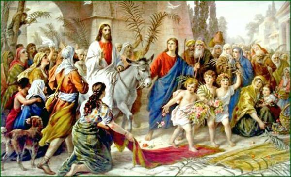 Недфля вербна Вхід господній в Єрусалим, громада святого Миколая Чудотворця місто Валки Харків